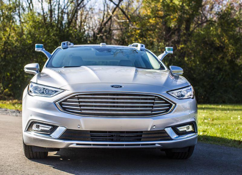 是福特自動駕駛測試車升級新版光達,外觀終於沒有那麼奇怪了這篇文章的首圖