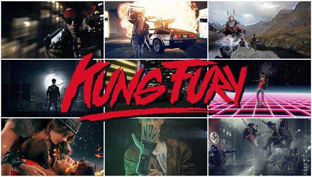 是Kung Fury ,一齣利用 CG 向 80 年代致敬的小成本集資電影這篇文章的首圖