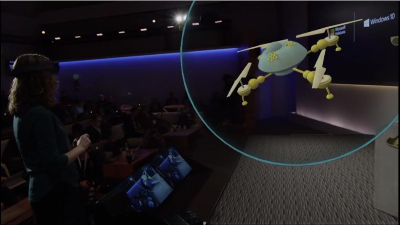 是改變人機互動介面的定義,微軟發表不僅是智慧穿戴的 Windows Holographic 與 HoloLens 頭戴顯示器這篇文章的首圖