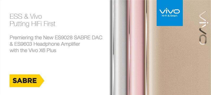 是ESS 發表針對行動設備的 ES9028 SABRE DAC 晶片與 ES9603 耳機擴大晶片,中國 VIVO X6 Plus 率先導入這篇文章的首圖
