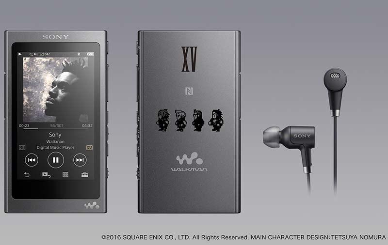 是太空戰士 XV 攜手 Sony ,推出限定版 Walkman 、 h.ear On 與 h.ear go這篇文章的首圖