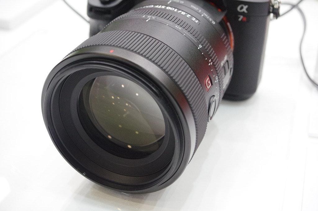 是CP+ 2017 : Sony FE85mm F1.8 、 GM100mm STF 快速動眼看這篇文章的首圖