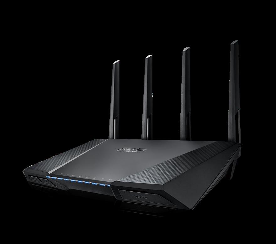 是三根天線已經落伍了,華碩推出 4x4 MIMO 的 RT-AC87U 雙頻無線分享器這篇文章的首圖