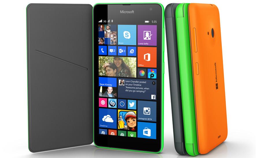 是微軟牌 Lumia 手機第一發,針對主流市場的 5 吋機 Lumia 535這篇文章的首圖