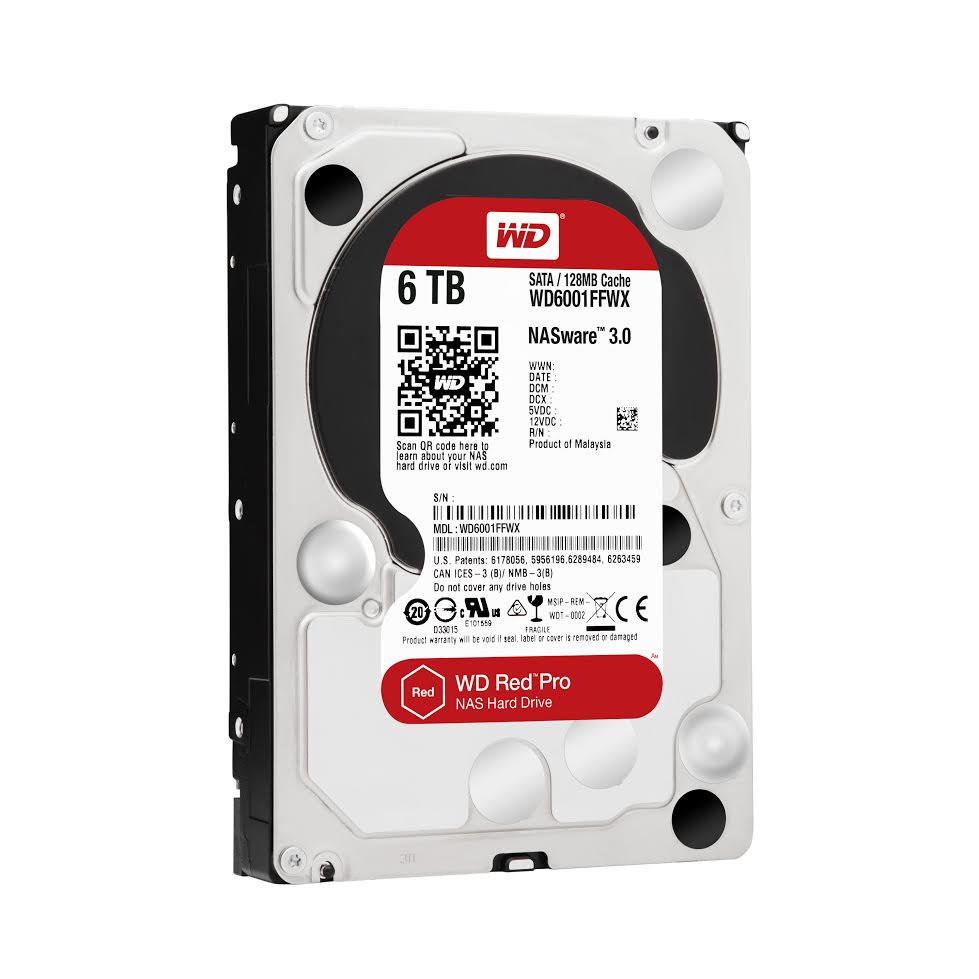 是大容量用卡久, WD 推出 Red Pro 6TB 紅標硬碟這篇文章的首圖