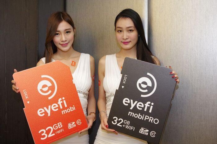 是加入 RAW 、影片傳輸與強大自動下標籤之雲相簿服務, Eyefi Mobi Pro 專業無線記憶卡在台發表這篇文章的首圖