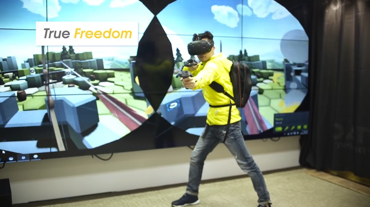 是或許 VR 體驗的下一步改為背背包?這篇文章的首圖