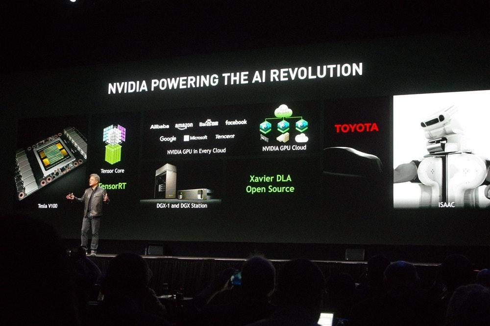 是GTC 2017 : NVIDIA 主題演講引領 AI 革命,基於 Volta 架構的 Tesla V100 登場、 Xavier 將具備深度學習加速器這篇文章的首圖