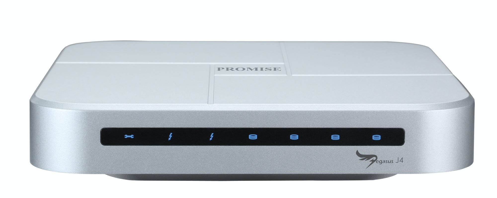 是最多支援 4 顆 2.5 吋硬碟,喬鼎 Pegasus J4 Thunderbolt 外接儲存上市這篇文章的首圖