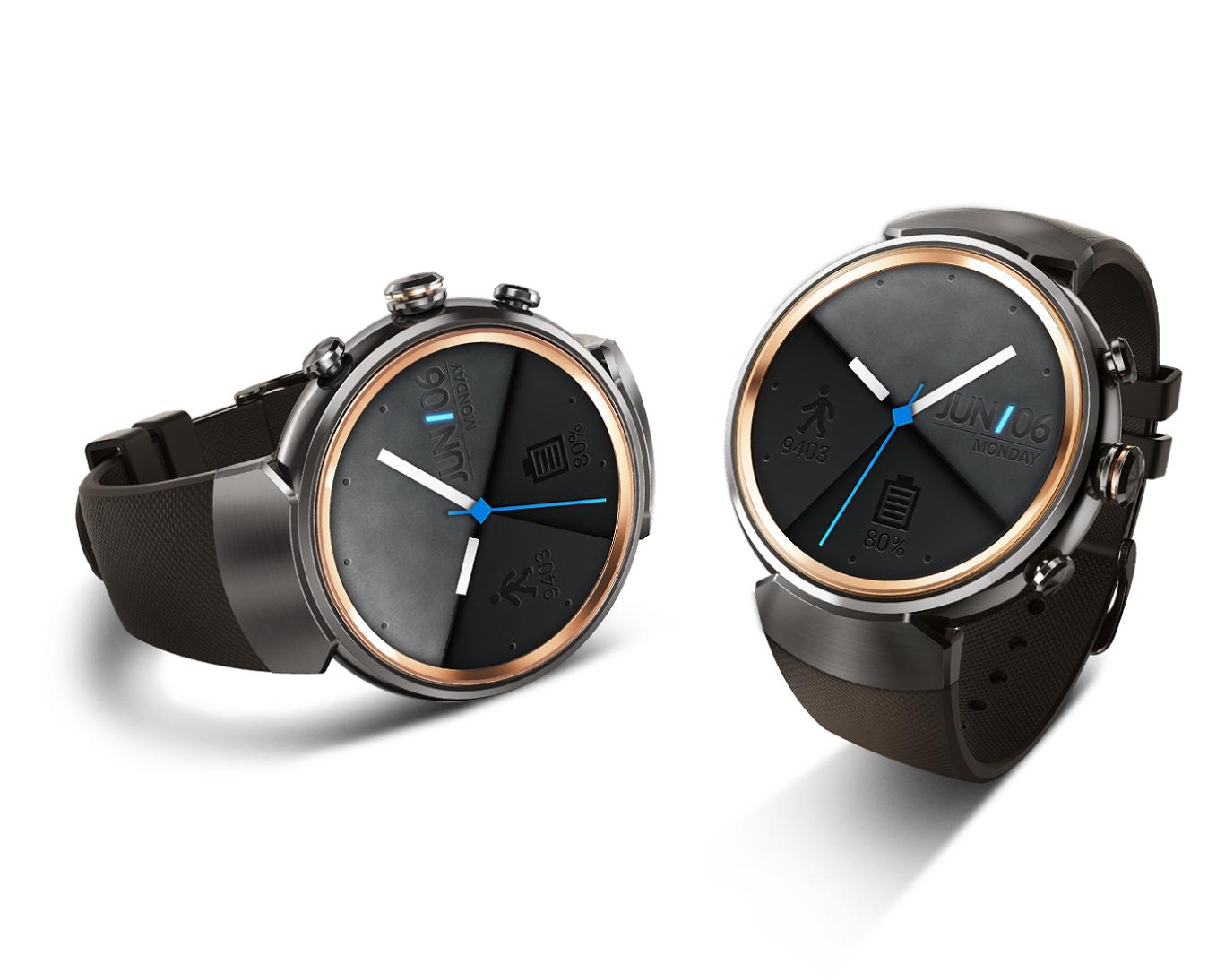 是華碩 ZenWatch 3 將於 12 月正式在台推出,採用圓形錶款搭配三鈕錶冠設計這篇文章的首圖