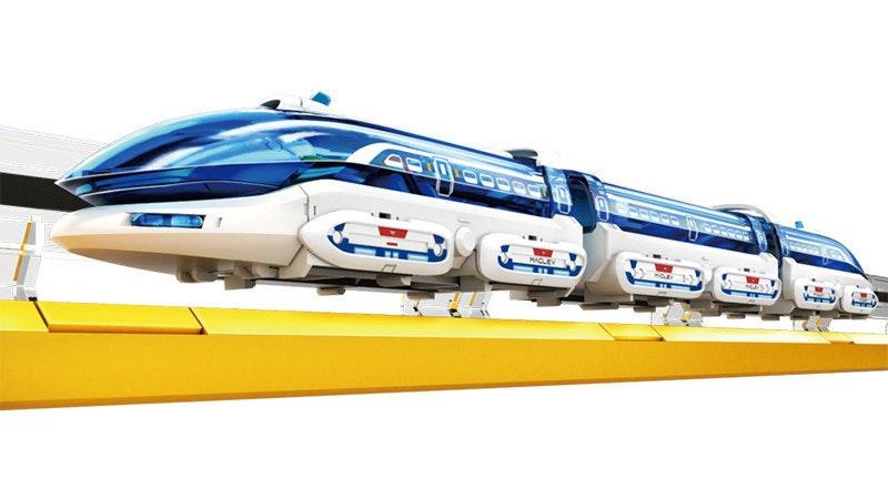 是體驗磁浮列車的原理, EK Japan 推出磁浮列車電子套件這篇文章的首圖