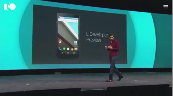 是不光針對平板與手機, Google 發表 Android L Developer Preview這篇文章的首圖