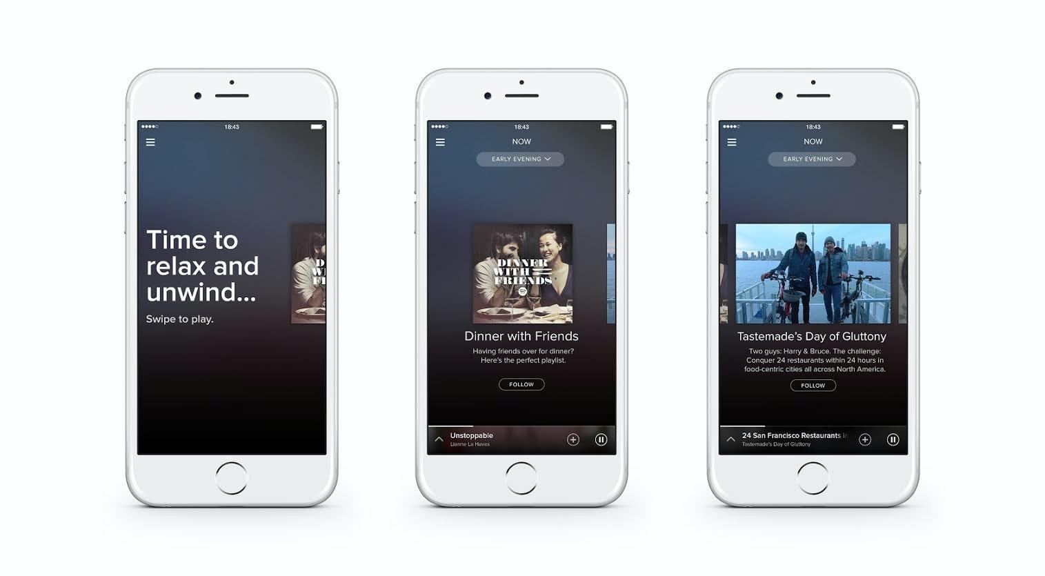 是搶於蘋果前先聲奪人, Spotify 發表全新介面 Now 以及運動專用功能 Spotify Running這篇文章的首圖