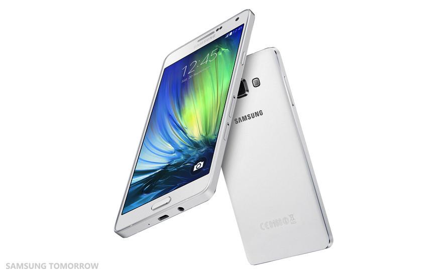 是三星主打質感的 Galaxy A 系列再推新機,為僅 6.7mm 的三星最薄機種 Galaxy A7這篇文章的首圖