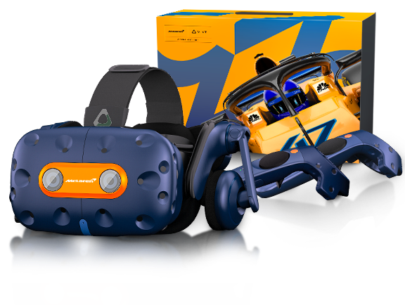HTC 攜手超品與賽車品牌 McLaren 推出限量版 VIVE Pro MaLaren 限定版