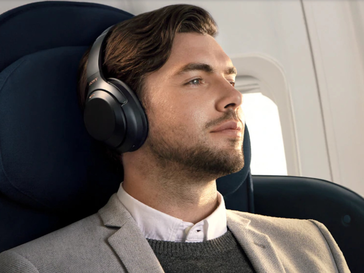Headphones, Noise-cancelling headphones, Active noise control, , Sony Corporation, Loudspeaker, Sound, Noise, Wireless, Sony 1000XM2, Headphones, headphones, technology, electronic device, audio equipment, chin, audio, facial hair, ear, hearing, neck