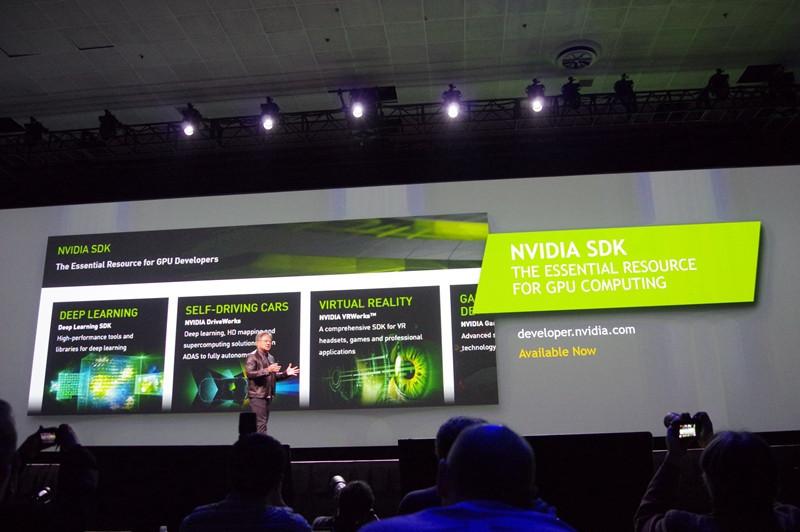 是GTC 2016 : NVIDIA 以 NVIDIA SDK 提供遊戲、運算、 VR 、設計、車載與嵌入平台開發這篇文章的首圖