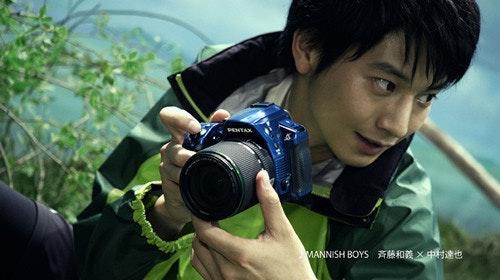 是Pentax K-30 在日本啟用偶像向井理代言廣告這篇文章的首圖