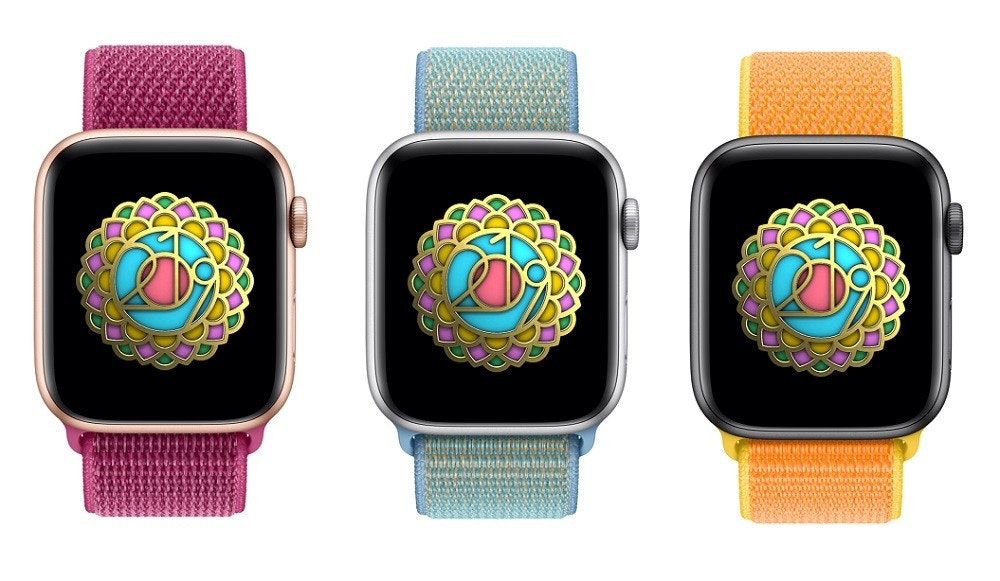 Apple Watch Series 4, Apple Watch Series 3, Apple Watch Sport Loop, Watch Bands, Watch, , Apple, Apple Watch Sport Loop, Apple Watch Series 1, Smartwatch, cinturino rosso apple watch, Watch, Analog watch, Strap, Fashion accessory, Technology, Gadget, Watch accessory, Brand, Rectangle, Turquoise