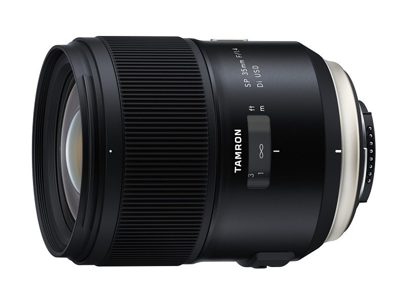 Tamron SP 35mm F1.8 Di VC USD, Tamron, 35 mm format, Full-frame digital SLR, Sigma 35mm f/1.4 DG HSM lens, Prime lens, Camera lens, Zoom lens, f-number, Digital SLR, tamron sp 35mm f 1.4 di usd, Camera lens, Cameras & optics, Camera accessory, Lens, Optical instrument, Teleconverter, Product, Camera, Photography, Lens hood