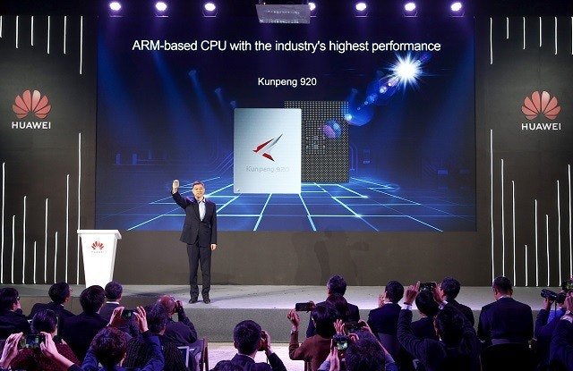 Central processing unit, 7 nanometer, ARM architecture, Huawei, , Intel, Data center, Computer Servers, Chipset, Computer, huawei, stage, convention, performance, technology, auditorium, competition, games, event, display device