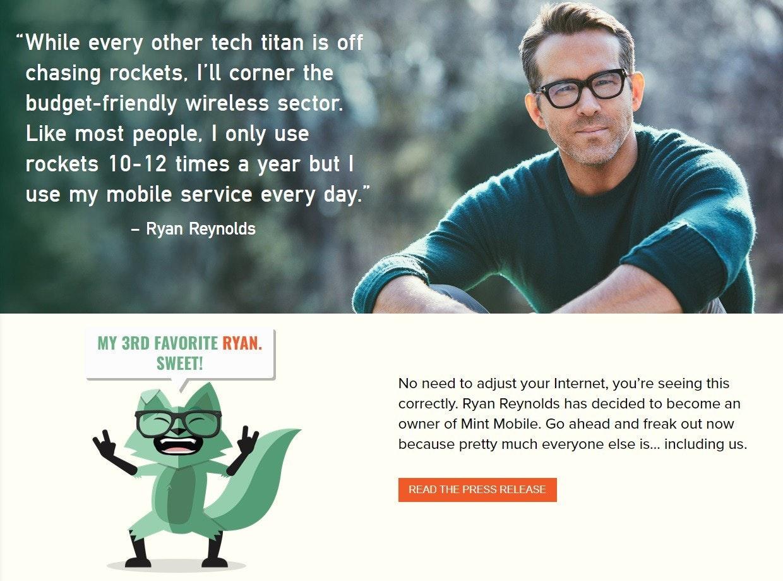 "照片中提到了""While every other tech titan is off、chasing rockets, l'll corner the、budget-friendly wireless sector.,包含了人類行為、人類行為、圖片說明、眼鏡、字形"