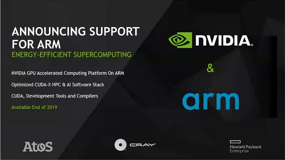 Nvidia 於isc 大會公布多樣超算布局 強化與arm 的合作 僅在3
