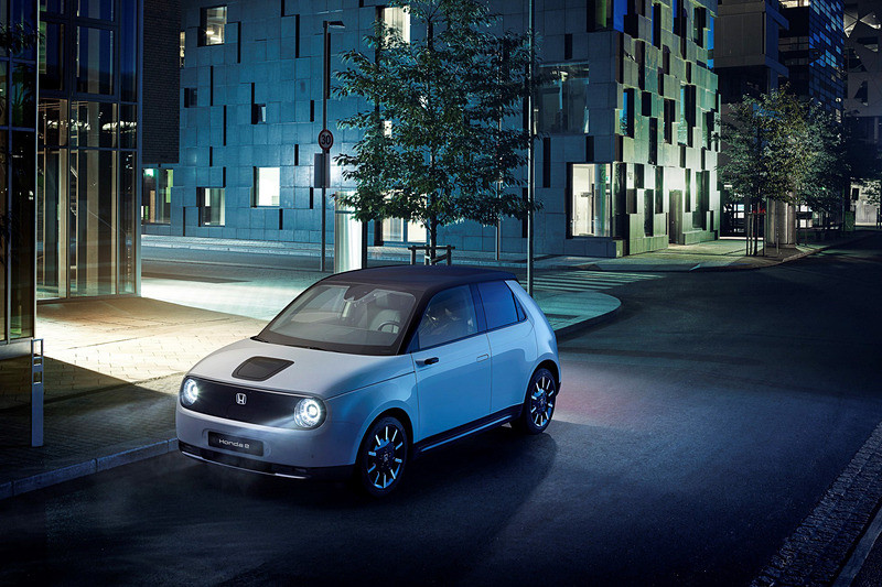 俥科技:本田微型電動車 Honda e 正式版公布,入門版 2.6 萬英鎊起、歐洲 2020 年夏天交車