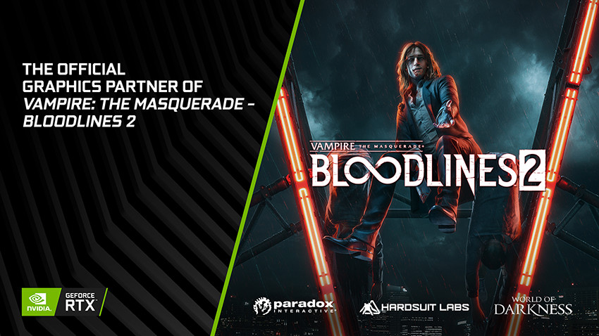 Vampire: The Masquerade – Bloodlines, Vampire: The Masquerade - Bloodlines 2, Video Games, Nvidia RTX, Game Developers Conference, Ray tracing, , , 2004, Nvidia, Vampire: The Masquerade – Bloodlines, Fictional character