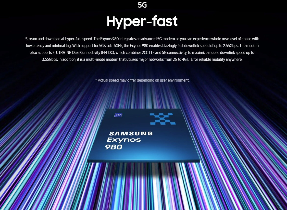 Exynos, 5G, CPUs, , Samsung Group, Baseband, Samsung, , Modem, Cell Phones, light, Text, Blue, Light, Font, Graphic design, Line, Design, Screenshot, Technology, Brand