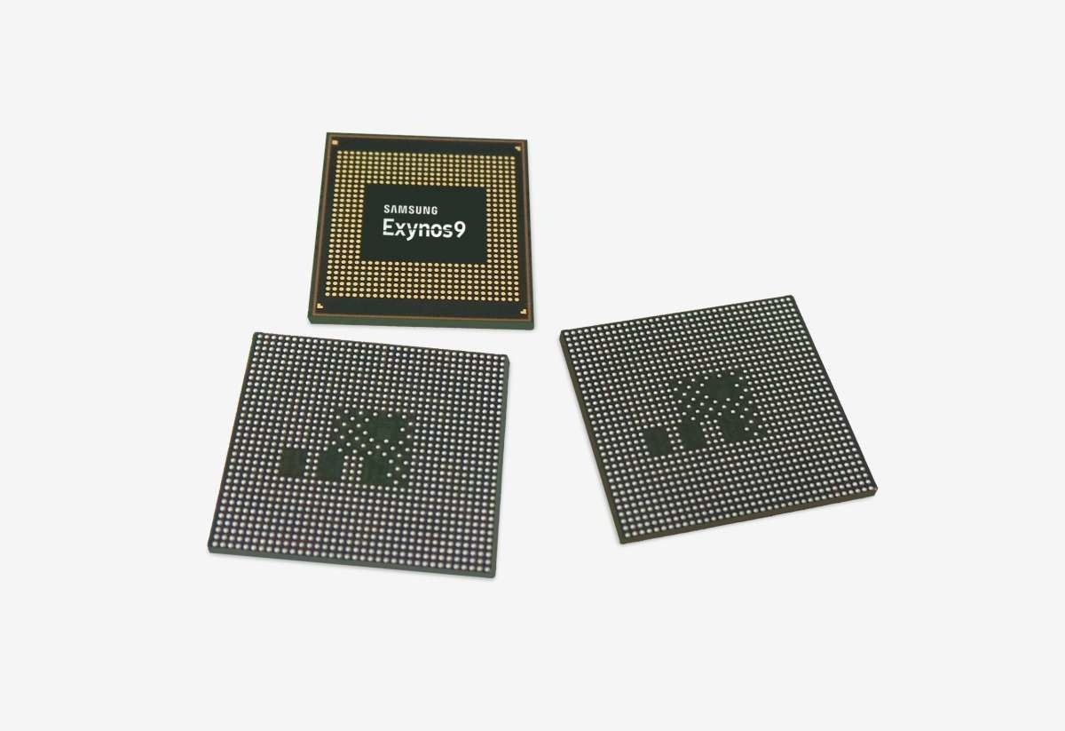 Samsung Galaxy S9, Samsung Galaxy Note 9, Exynos, Samsung Group, , 10 nanometer, System on a chip, Smartphone, Central processing unit, Multi-core processor, exynos 9810, Font, Technology, Rectangle, Earrings
