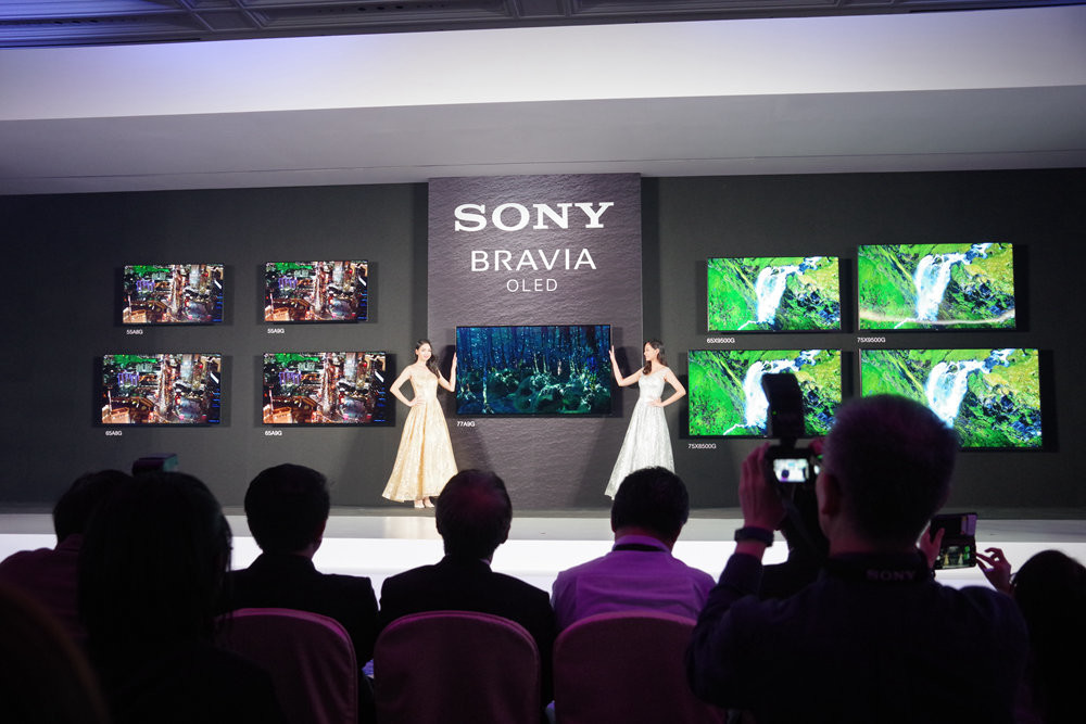 Display device, , Sony Corporation, Computer Monitors, Sony Mobile, sony corporation, Projection screen, Display device, Event, Technology, Design, Electronic device, Stage, Presentation, Gadget, Crowd