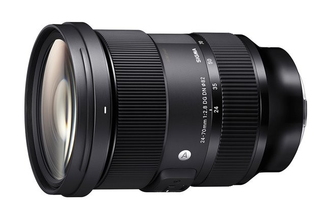 照片中提到了24-70mm 1:2.8 DG DN 82、SIGMA、24,包含了增距鏡、西格瑪公司、索尼E卡口、鏡頭、佳能EF 24-70mm