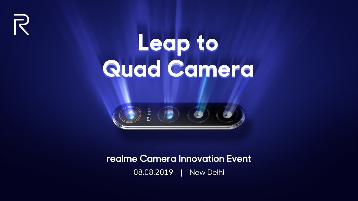 Smartphone, Realme, Mobile Phones, Camera, Realme, August 8, ColorOS, Brand, Technology, Text messaging, Realme, Text, Font, Technology, Design, Advertising, Graphic design, Electric blue, Electronics, Logo, Brand