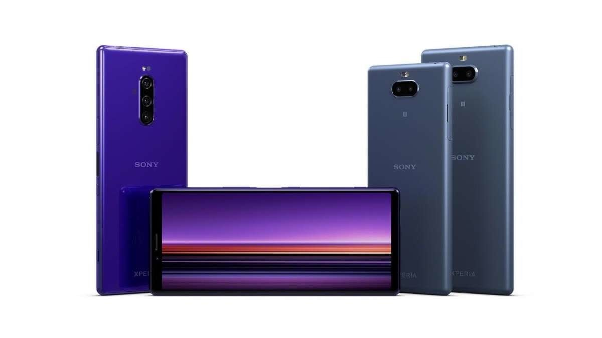Sony Xperia Z5, Sony Xperia 1, Mobile World Congress, Sony Ericsson Xperia X10, Sony Xperia X, Sony Xperia Z1, Sony Xperia T, , Sony, Sony Mobile, sony xperia 10 plus, Violet, Purple, Product, Gadget, Electronic device, Technology, Mobile phone, Material property, Magenta, Communication Device