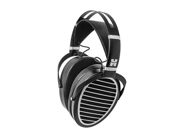 照片中提到了HIFIMAN,包含了頭戴式耳機、高保真人、耳罩式、高保真度、Derecho耳機125-77 Sandberg遊戲耳機