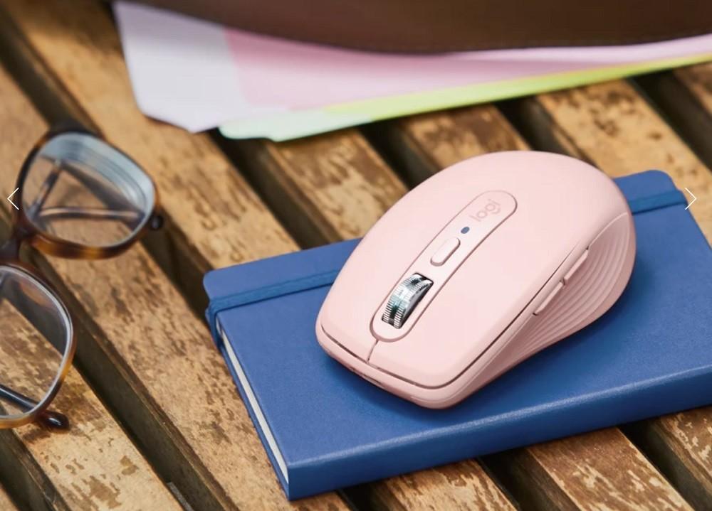 羅技 MX 大師系列輕便滑鼠 MX Anywhere 3 上市,提供白、黑與粉三色