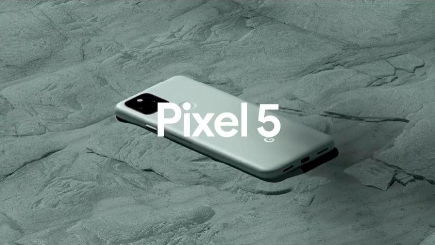照片中提到了Pixel 5,跟Google Pixel有關,包含了材料、產品設計、產品、吉恩體育航空中心、字形