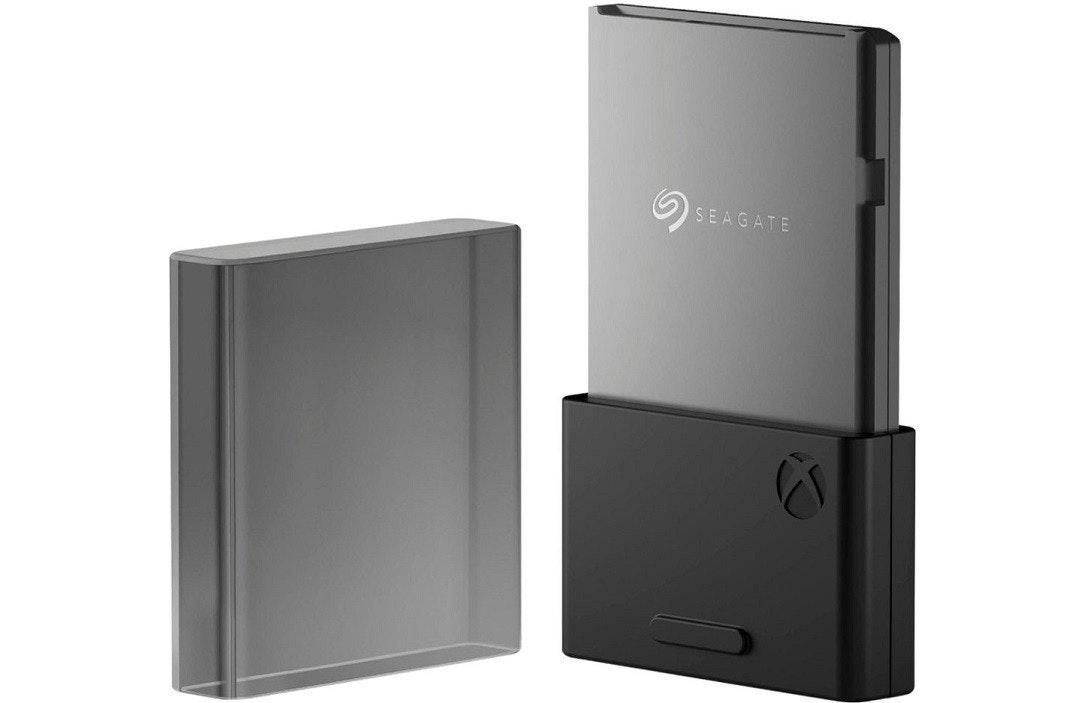 照片中提到了SEAGATE,跟希捷科技有關,包含了Xbox系列X和系列S、微軟Xbox One X、微軟Xbox One S、Xbox系列X和系列S、固態硬盤