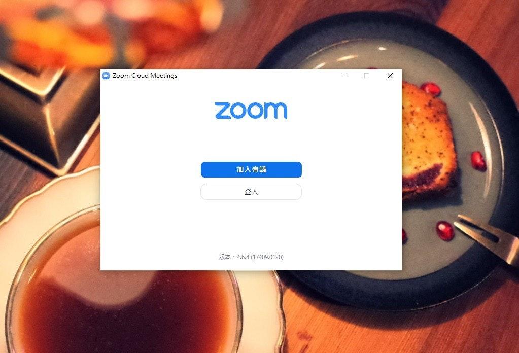 照片中提到了O Zoom Cloud Meetings、Zoom、加入會議,跟變焦視頻通訊有關,包含了橙子、字形、儀表、橙色S.A.、三井美食M