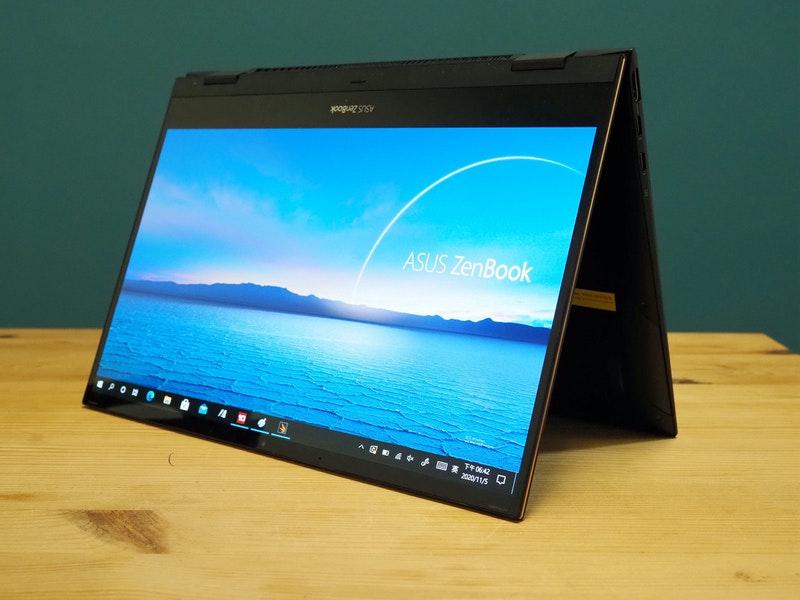 虎湖大進化 ,搭載 Intel 第 11 代 Core 的華碩 ZenBook Flip UX371 動手玩