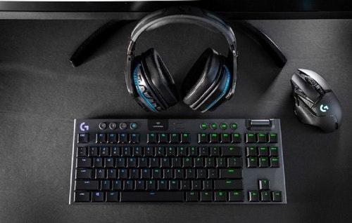 羅技推出 80% 矮軸無線機械式鍵盤 G913 TKL ,具 40 小時無線續航與 1ms 回報率的低延遲