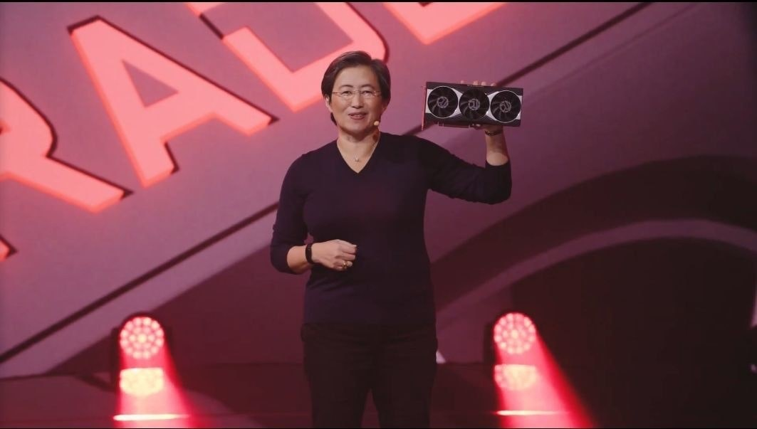 照片中提到了RA,包含了顯卡、AMD Radeon RX系列、Radeon Pro、圖形處理單元、AMD公司