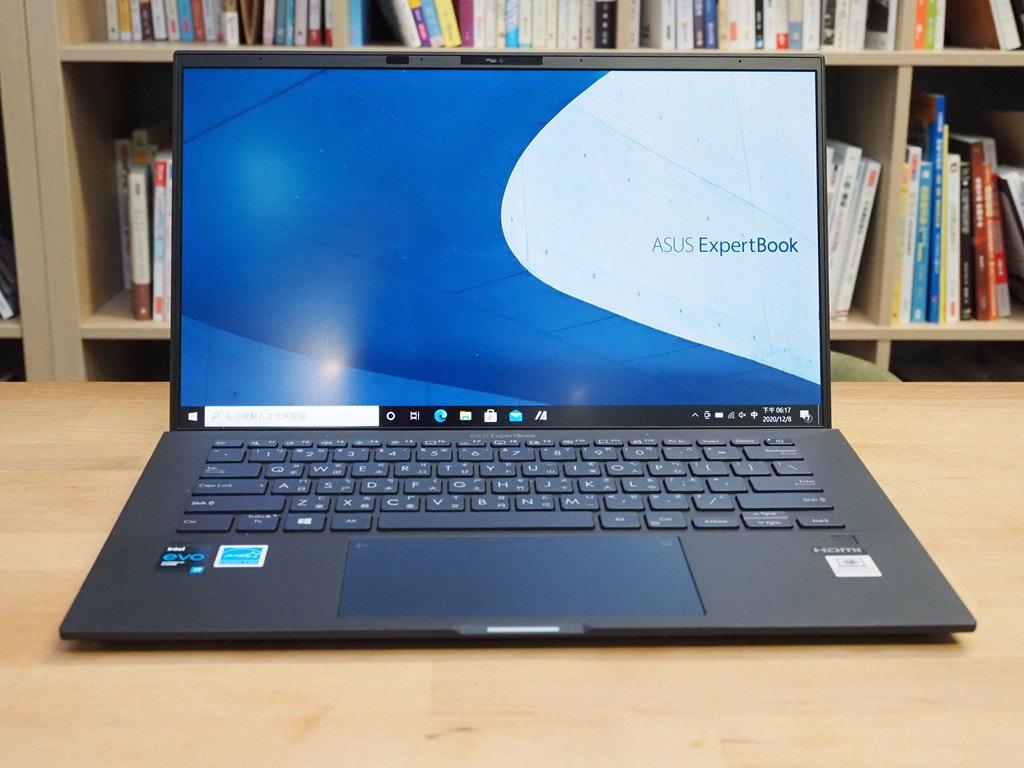 照片中提到了ASUS ExpertBook、AO6 de F406:17、2020/12/8,包含了上網本、電腦硬件、個人電腦、上網本、顯示裝置