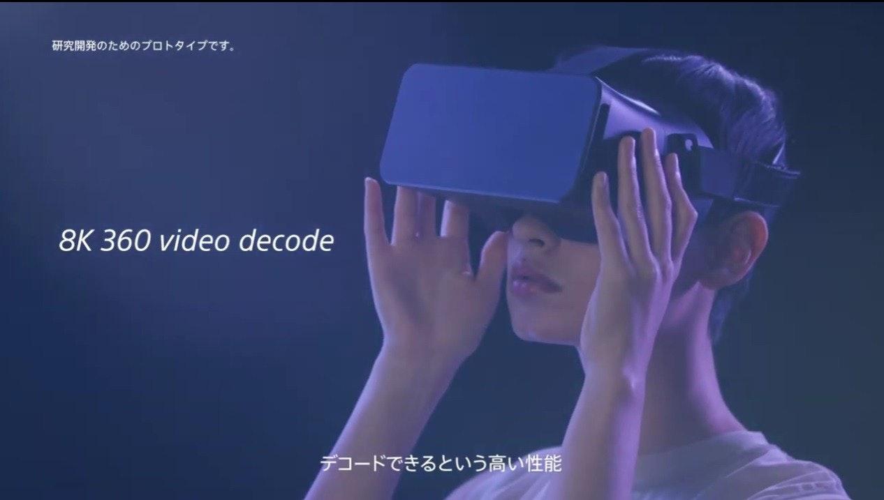 照片中提到了研究開発のためのプロトタイプです。、8K 360 video decode、デコードできるという高い性能,包含了幸福、牆紙、儀表、幸福、微軟Azure