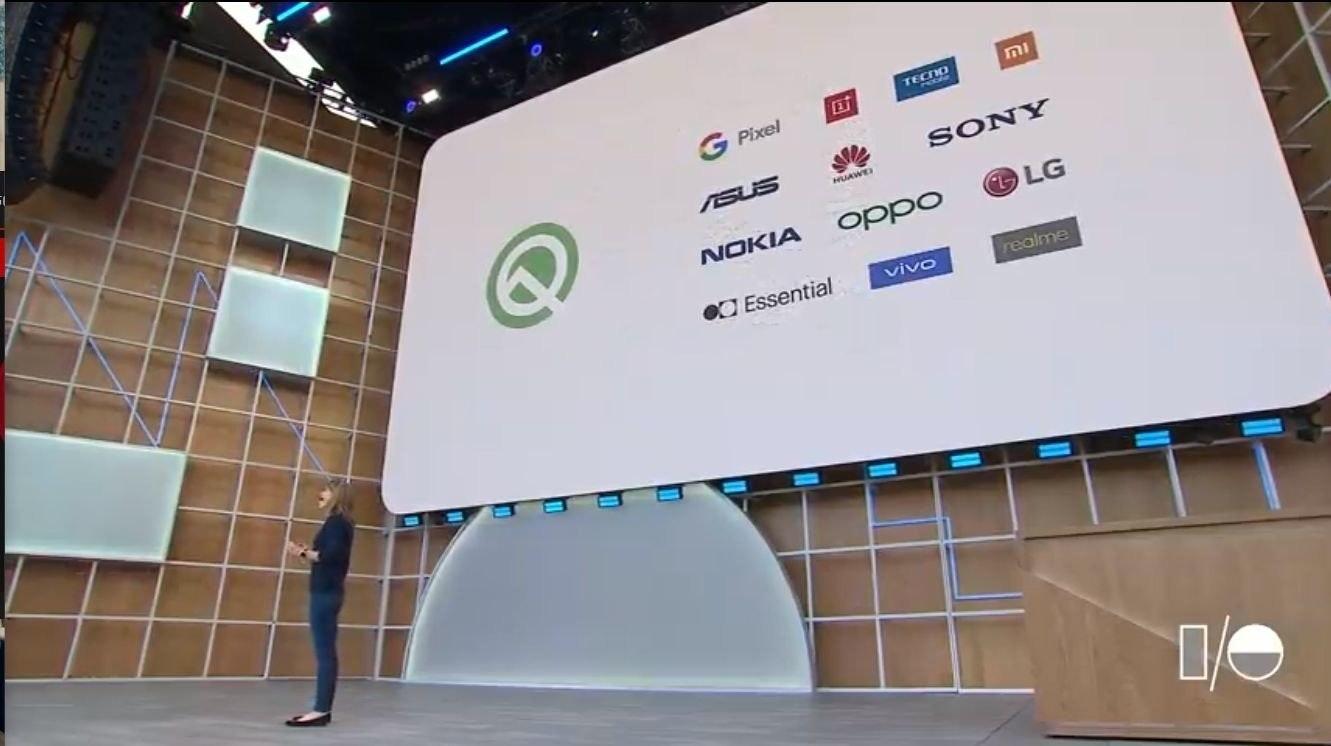照片中提到了ni、TECTO、G Pixel,跟諾基亞、了索尼有關,包含了Google I / O、Google I / O、Google I / O 2019、安卓系統、Android 10