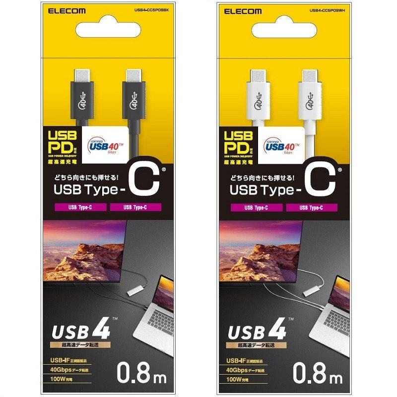 照片中提到了ELECOM、USB4-CCSPOBBK、ELECOM,跟美國網絡、美國網絡有關,包含了展示廣告、USB4、USB、USB 3.0、USB實施者論壇