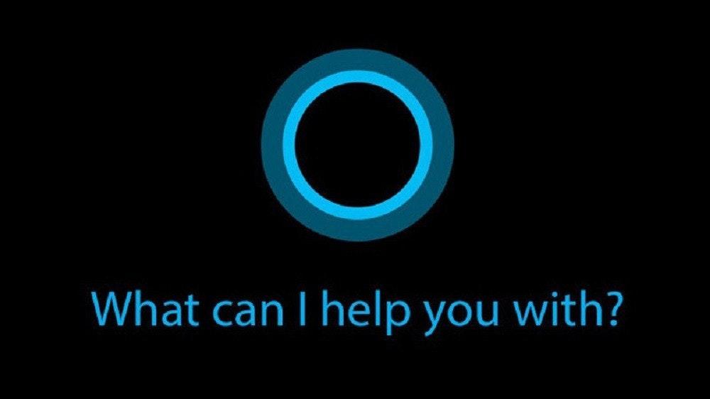 照片中提到了What can I help you with?,跟露諾有關,包含了你需要幫助、Cortana、Windows 10、虛擬助手、Google助手