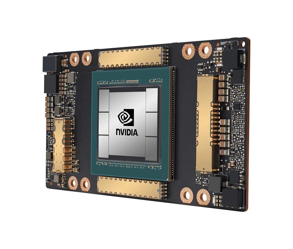 照片中提到了NVIDIA.、コゴ年,跟英偉達有關,包含了圖形處理單元、安培、電腦