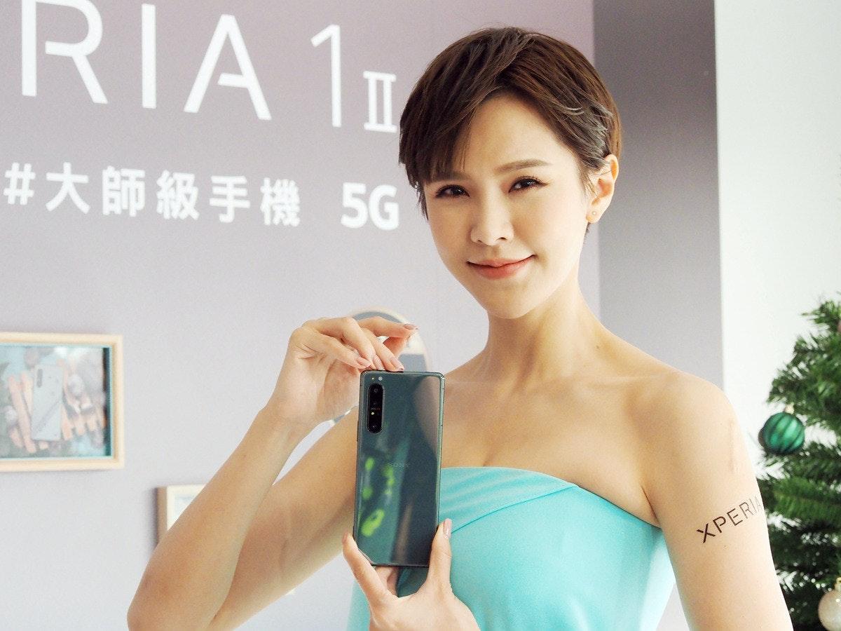 照片中提到了RIA 11、#大師級手機 5G、ХРER,跟索尼Xperia Z3有關,包含了美女、主動內衣、皮膚、產品、ARM Cortex-M